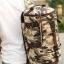 TR03 กระเป๋าทรงกระบอกใหญ่ แคนวาส ลายทหาร thumbnail 10