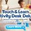 โต๊ะกิจกรรมเสริมพัฒนาการเอนกประสงค์ VTech 3-in-1 Touch and Learn Activity Desk Deluxe thumbnail 10
