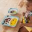 จานอาหารแบ่ง 2 ช่องสำหรับเด็ก Skip Hop รุ่น Zoo Plate (Giraffe) thumbnail 3