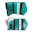 RFID Passport Holder Wallet (Turquoise) กระเป๋าพาสปอร์ตพร้อมกล่องพรีเมี่ยม สีเขียวทะเล thumbnail 5