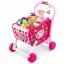 รถเข็นซุปเปอร์มาร์เก็ตพร้อมที่นั่งตุ๊กตา Kids Shopping 3-in-1 Cart (Blue) thumbnail 2