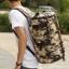 TR03 กระเป๋าทรงกระบอกใหญ่ แคนวาส ลายทหาร thumbnail 9