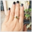 แหวนเขียวส่องแท้ ทองแท้ สวยเก๋อย่างมีสไตล์(สอบถามราคา) thumbnail 6
