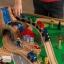โต๊ะกิจกรรมเอนกประสงค์พร้อมชุดโมเดล KidKraft Waterfall Mountain Train Set & Table thumbnail 6