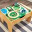 โต๊ะกิจกรรมสำหรับเลโก้พร้อมชุดรถไฟ Kidkraft 2-in-1 Activity Table with LEGO-Compatible Board and Train Set (Natural) thumbnail 7