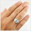 แหวนโอปอลแท้ เงินแท้ เหลือบสีฟ้า thumbnail 5