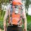 NL13 กระเป๋าเดินทาง สีเขียว ขนาด 55+5 ลิตร (เสริมโครง) thumbnail 22