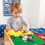 โต๊ะกิจกรรมสำหรับเลโก้พร้อมชุดรถไฟ Kidkraft 2-in-1 Activity Table with LEGO-Compatible Board and Train Set (Natural) thumbnail 12