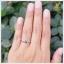 แหวนไพลินแท้ เงินแท้ ชุบทองคำขาว thumbnail 4