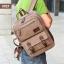 VT07- Green กระเป๋าเป้แคนวาส กระเป๋าผู้ชาย สีเขียว thumbnail 31