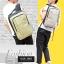 NB02 กระเป๋าทำงาน กระเป๋าโน๊ตบุ๊ค สีเทา ขนาด 12 ลิตร thumbnail 11