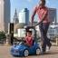 รถขาไถพร้อมหลังคามือจับ Step2 Turbo Coupe Foot-to-Floor (Blue) thumbnail 6
