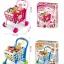 รถเข็นซุปเปอร์มาร์เก็ตพร้อมที่นั่งตุ๊กตา Kids Shopping 3-in-1 Cart (Blue) thumbnail 4