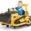 รถตักดินแบตเตอรี่สุดเท่ห์ Kid Trax CAT Bulldozer 12-Volt Battery-Powered Ride-On thumbnail 9