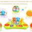 คีย์บอร์ดดนตรีพร้อมตุ๊กตาสัตว์แสนสนุก Huile Toys Funny Animal Keyboard thumbnail 3