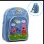 กระเป๋าเป้สะพายหลังสำหรับเด็ก Peppa Pig Under the Rainbow Backpack for Kids thumbnail 1
