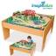 โต๊ะกิจกรรมเอนกประสงค์พร้อมชุดโมเดลรถไฟ Imaginarium 55-Piece Train Set with Table thumbnail 1