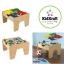 โต๊ะกิจกรรมสำหรับเลโก้พร้อมชุดรถไฟ Kidkraft 2-in-1 Activity Table with LEGO-Compatible Board and Train Set (Natural) thumbnail 1