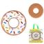ยางกัดสุดหนึบปลอดสารพิษ SILLI CHEWS (Donut) thumbnail 1