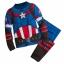 ชุดนอนสุดเท่ห์สำหรับลูกชาย Disney Pyjamas For Kids (Captain America) thumbnail 1