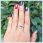 แหวนไพลินแท้ สวยใสไฟดี ดีไซน์สวยเก๋มีสไตล์ thumbnail 5