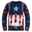 ชุดนอนสุดเท่ห์สำหรับลูกชาย Disney Pyjamas For Kids (Captain America) thumbnail 2