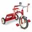 จักรยานสามล้อถีบสุดคลาสสิค Radio Flyer Classic Dual-Deck Tricycle (Red) thumbnail 1
