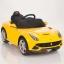 รถแบตเตอรี่พร้อมรีโมทบังคับวิทยุ Ferrari F12 Berlinetta Remote-Controlled 12V Battery-Powered Ride-On (Red) thumbnail 2