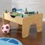 โต๊ะกิจกรรมสำหรับเลโก้พร้อมชุดรถไฟ Kidkraft 2-in-1 Activity Table with LEGO-Compatible Board and Train Set (Natural) thumbnail 5