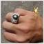 แหวน Black Star Sapphire ขาสวยคมชัด thumbnail 1