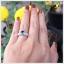 แหวนลอนดอนบลูโทแพซแท้ เป็นที่รักใคร่ ป้องกันอันตรายต่างๆ thumbnail 4