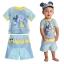 ชุดว่ายน้ำป้องกันรังสียูวีสำหรับทารกและเด็กเล็ก Disney Rash Guard & Swim Trunks for Baby (Mickey Mouse) thumbnail 1