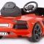 รถแบตเตอรี่พร้อมรีโมทบังคับ Lamborghini Aventador LP700 6V Battery-Powered Ride-On (Red) thumbnail 7