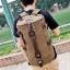 TR01 กระเป๋าทรงกระบอกใหญ่ แคนวาส สีเทา thumbnail 10