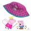 หมวกปีกสำหรับเด็ก Peppa Pig Pink Hat with Flowers thumbnail 1