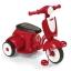 รถจักรยานสามล้อทรงเวสป้า Radio Flyer Classic Lights & Sounds Trike (Red) thumbnail 2