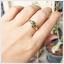 แหวนเขียวส่องแท้ 5 เม็ดเรียง สวมใส่ติดนิ้วได้ทุกโอกาส(สามารถสั่งทำได้ค่ะ) thumbnail 5