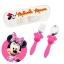 ชุดช้อนและส้อมพร้อมกล่องบรรจุสำหรับเด็ก Disney Eats Flatware Set for Kids (Minnie Mouse) thumbnail 1