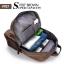 VT07- Green กระเป๋าเป้แคนวาส กระเป๋าผู้ชาย สีเขียว thumbnail 16