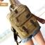 VT07- Green กระเป๋าเป้แคนวาส กระเป๋าผู้ชาย สีเขียว thumbnail 46