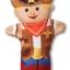 ชุดตุ๊กตาหุ่นมือ Melissa & Doug Hand Puppets (Bold Buddies) thumbnail 3