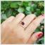แหวนโกเมนแท้ ดีไซน์สุดเก๋ ใส่ติดนิ้วน่ารักๆ thumbnail 5