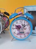 ของขวัญให้ผู้ใหญ่ ของชำร่วยปีใหม่ 2016 นาฬิกาตั้งโต๊ะแนววินเทจ ไซส์ L สีฟ้า