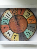 ของขวัญแจกลูกค้าปีใหม่ นาฬิกาแขวนวินเทจติดผนังประดับบ้าน สวยเก๋ไม่เหมือนใคร
