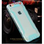 เคสไอโฟน 6plus วัสดุ TPU ใส สีฟ้า