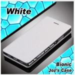 เคสเลอโนโว A7010 (k4 note) เคสพับหนังpu สีขาว