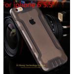 เคสไอโฟน 6plus วัสดุ TPU ใส สีดำ
