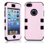 เคสไอโฟน 5c เคสซิลิโคน+พลาสติก สีสันสวยงาม แบบที่4