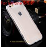 เคสไอโฟน 6plus วัสดุ TPU ใส สีขาว
