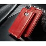 เคสซัมซุง s7 เคสหนังพับแท้คุณภาพเยี่ยมสวยงาม สีแดง